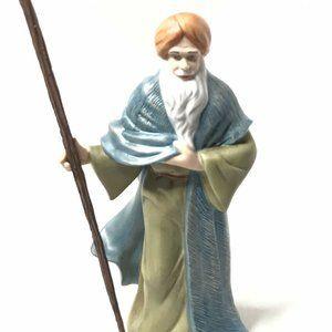 Thomas Kinkade Nativity Figurine Silent Praise